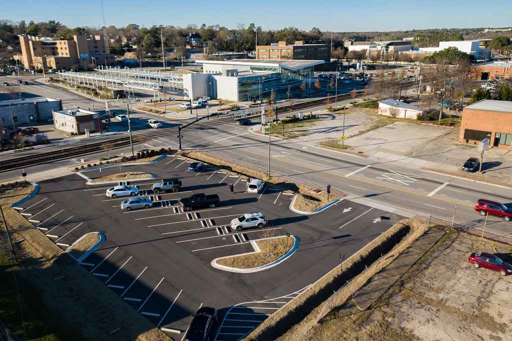 City of Fayetteville parking lot